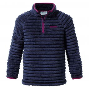 Appleby Half-Zip Fleece Soft Navy Combo