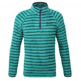Appleby Half Zip Bright Turquoise