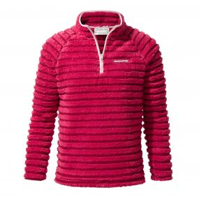 Appleby Half-Zip Fleece Tropical Pink