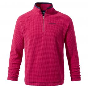 Discovery Adventures Half-Zip Fleece Dark Electric Pink