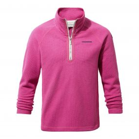 Beyla Half-Zip Fleece Tulip Pink