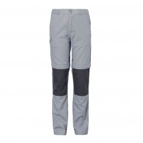 Kiwi Convertible Trousers Cement