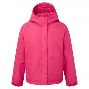 Girls Bekita Thermic Jacket Electric Pink