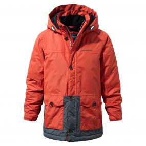 Scotton Parka Vermiln Orange