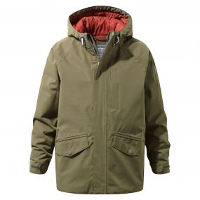 Boys 250 Jacket Dark Moss