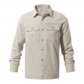 Adventure Trek Long-Sleeved Shirt Oatmeal