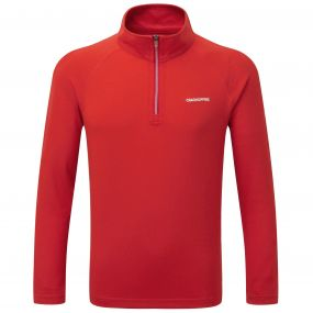 NosiLife Ace Long-Sleeved Zip Neck Dynamite Red