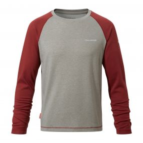 NosiLife Barnaby Long Sleeved T-Shirt Carmine Red