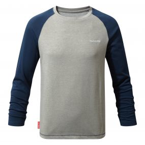 NoliLife Barnaby Long-Sleeved Tee Night Blue