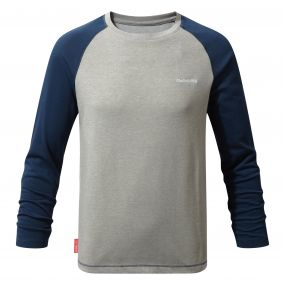 NosiLife Barnaby Long-Sleeved Tee Night Blue