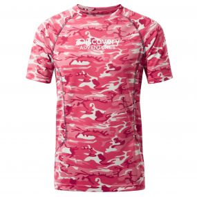 Discovery Adventures Short-Sleeved T-Shirt Electric Pink
