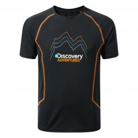 Discovery Adventures Short Sleeved T-Shirt Black