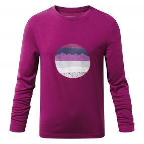 Erna Long-Sleeved Tee Azalia Pink