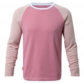 Insect Shield Barnaby Long-Sleeved Tee English Rose