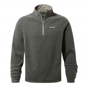 Selby Half-Zip Fleece Black Pepper Marl