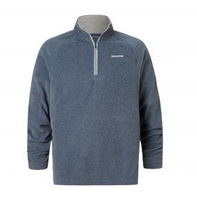 Selby Half-Zip Fleece Ombre Blue Marl