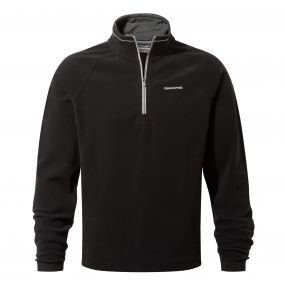 Selby Half-Zip Fleece Black