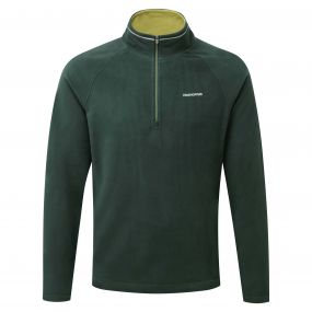 Selby Half-Zip Asteroid Green