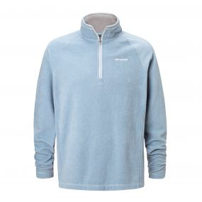 Selby Half-Zip Fleece Fogle Blue Marl