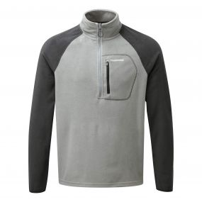 C65 Half-Zip Fleece Quarry Grey / Black Pepper