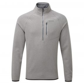 Liston Half-Zip Fleece Quarry Grey