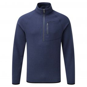 Liston Half-Zip Fleece Night Blue