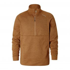 Vector Half-Zip Fleece Russet