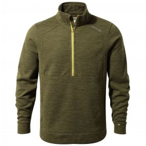 Vector Half-Zip Fleece Dark Moss