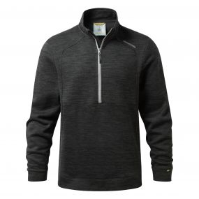Vector Half-Zip Fleece Black