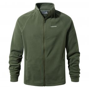 Selby Interactive Fleece Parka Green