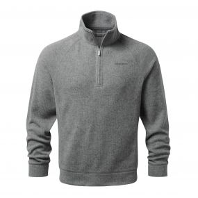Norton Half-Zip Fleece Quarry Grey Marl