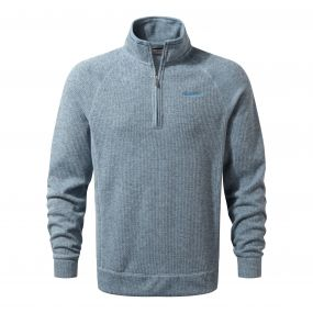 Norton Half-Zip Fleece Fogle Blue