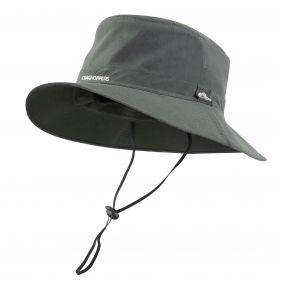 Insect Shield Outback Hat Dark Khaki