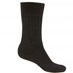Mens Wool Explorer Sock Black Pepper Marl