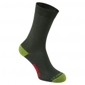 Single Pack NosiLife Travel Sock Dark Khaki