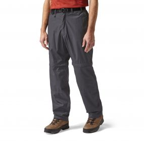 Kiwi Convertible Pants Black Pepper