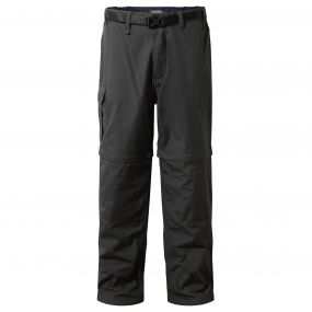 Kiwi Convertible Trousers Black Pepper
