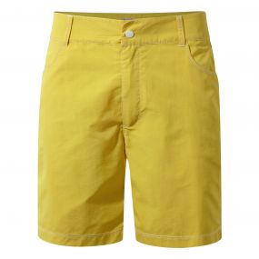 Leon Swim Shorts Palm Yellow