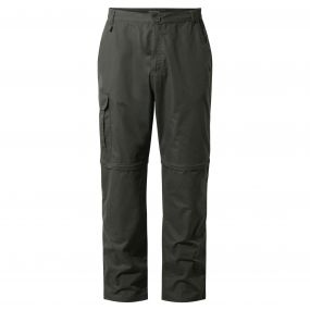 C65 Convertible Trousers Dark Khaki
