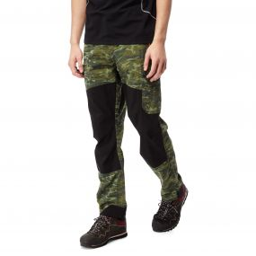 Discovery Adventures Trousers Dark Moss Combo