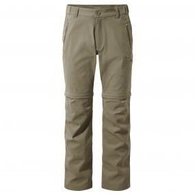 Kiwi Pro Convertible Trousers Pebble