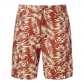 Whitehaven Shorts Red Earth Print