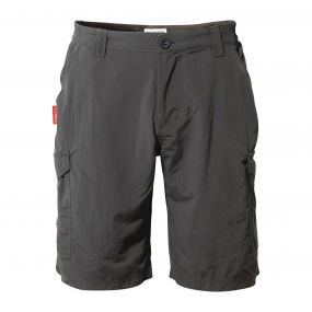 Insect Shield Cargo Shorts Black Pepper