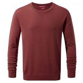 NosiLife Berkley Crew Neck Carmine Red