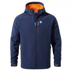 Discovery Adventures Hooded Windshield Jacket Night Blue