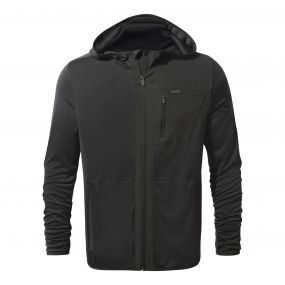 Insect Shield Elgin Hooded Jacket Black Pepper