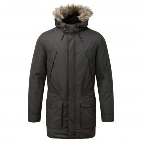 Argyle Parka Black Pepper
