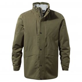 Axel Jacket Dark Moss