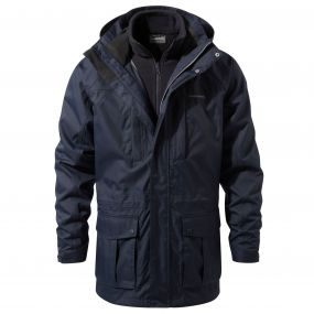 Kiwi Long 3-in-1 Jacket Blue Navy / Dark Navy