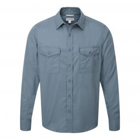 Kiwi Long-Sleeved Shirt Lake Blue
